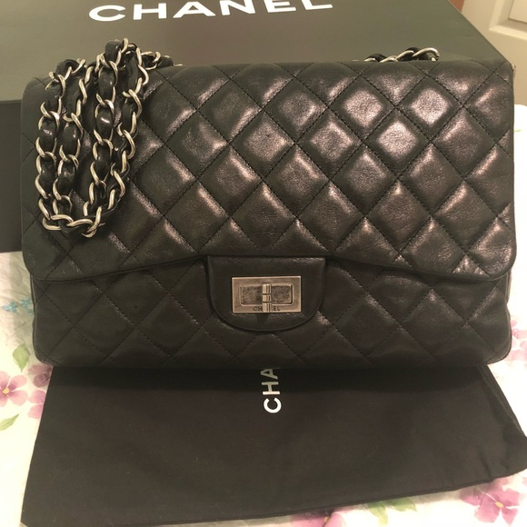 6830732b6d6c6f CHANEL Handbags - AUTHENTIC CHANEL JUMBO 227 FLAP BAG MSRP $6400